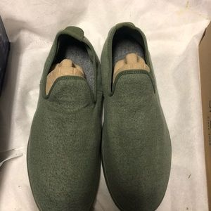 Allbirds men's wool loungers sz 13 olive